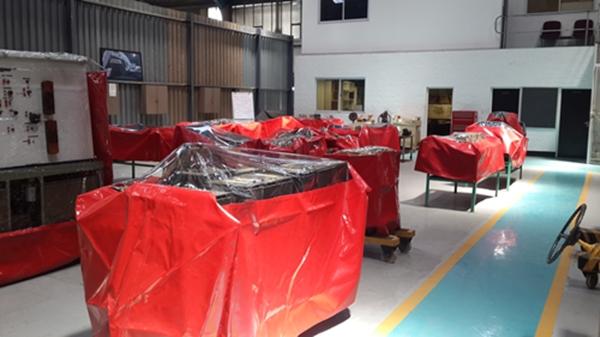 Power Plastics PVC Machine and Equipment Covers