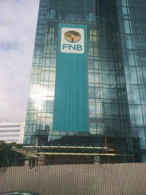 Branded scaffolding sheeting FNB