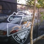 Branded Barrier Netting - Harley Davidson